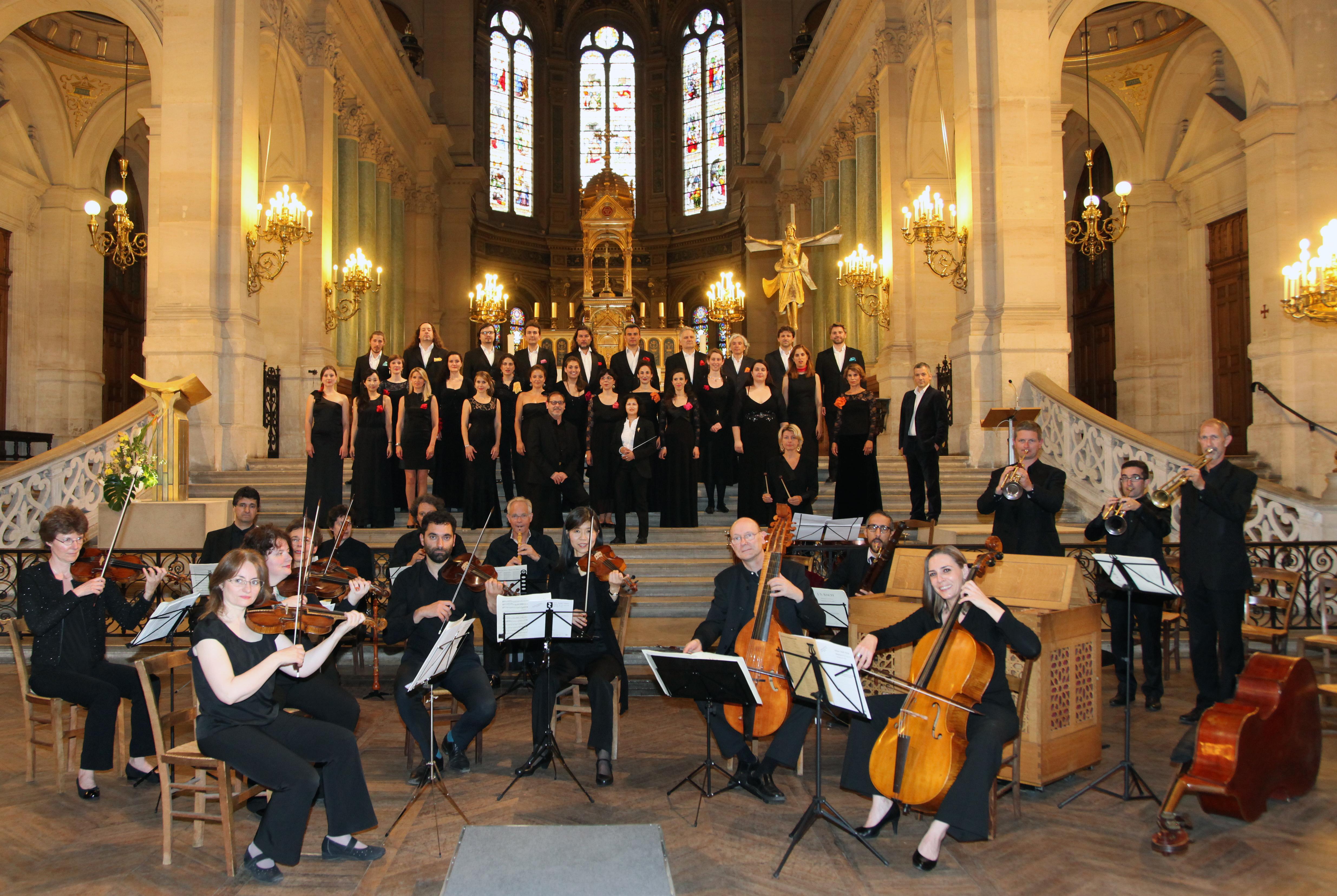 Concert à l'église de la Trinité