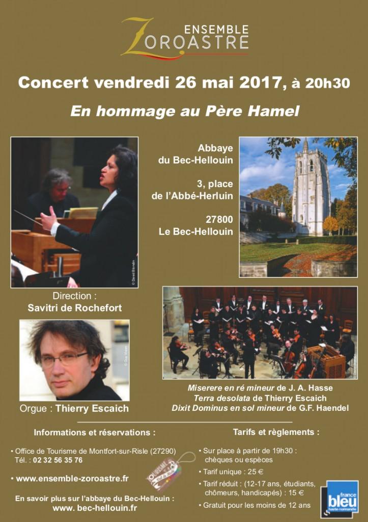 Affiche concert 26 mai 2017