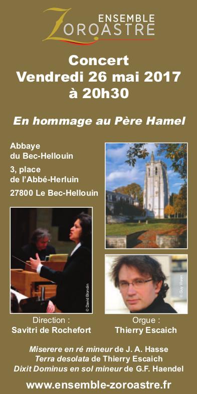 flyer ensemble zoroastre 26 mai 17 Bec-Helloin recto
