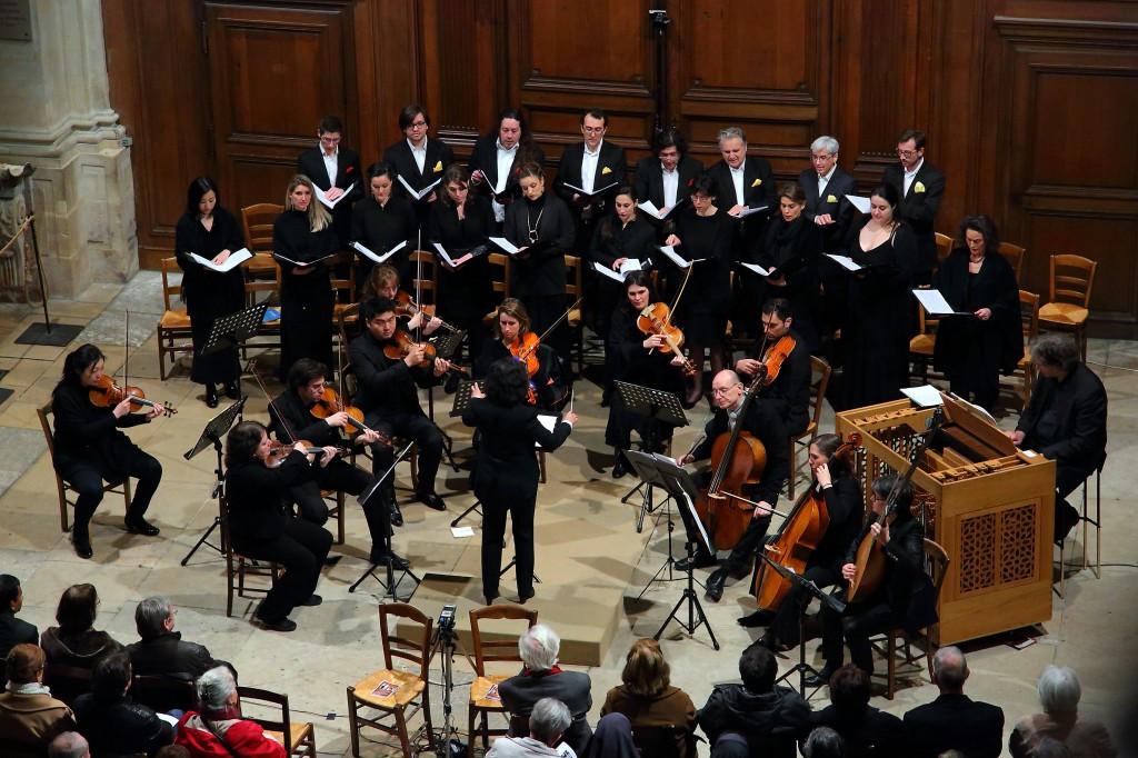 Concert à l'église St Etienne-du-Mont